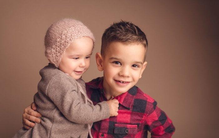 Melissa e Mattia - fotografa di bambini
