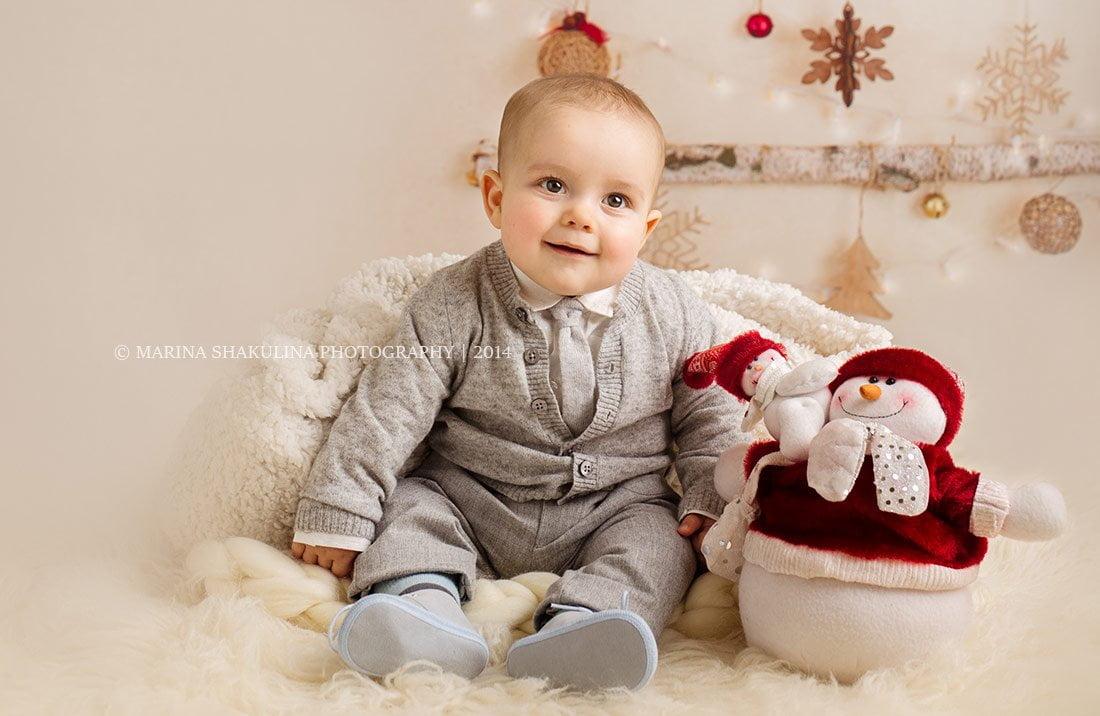 Natale Prenatal - Fotografo di bambini a Verona