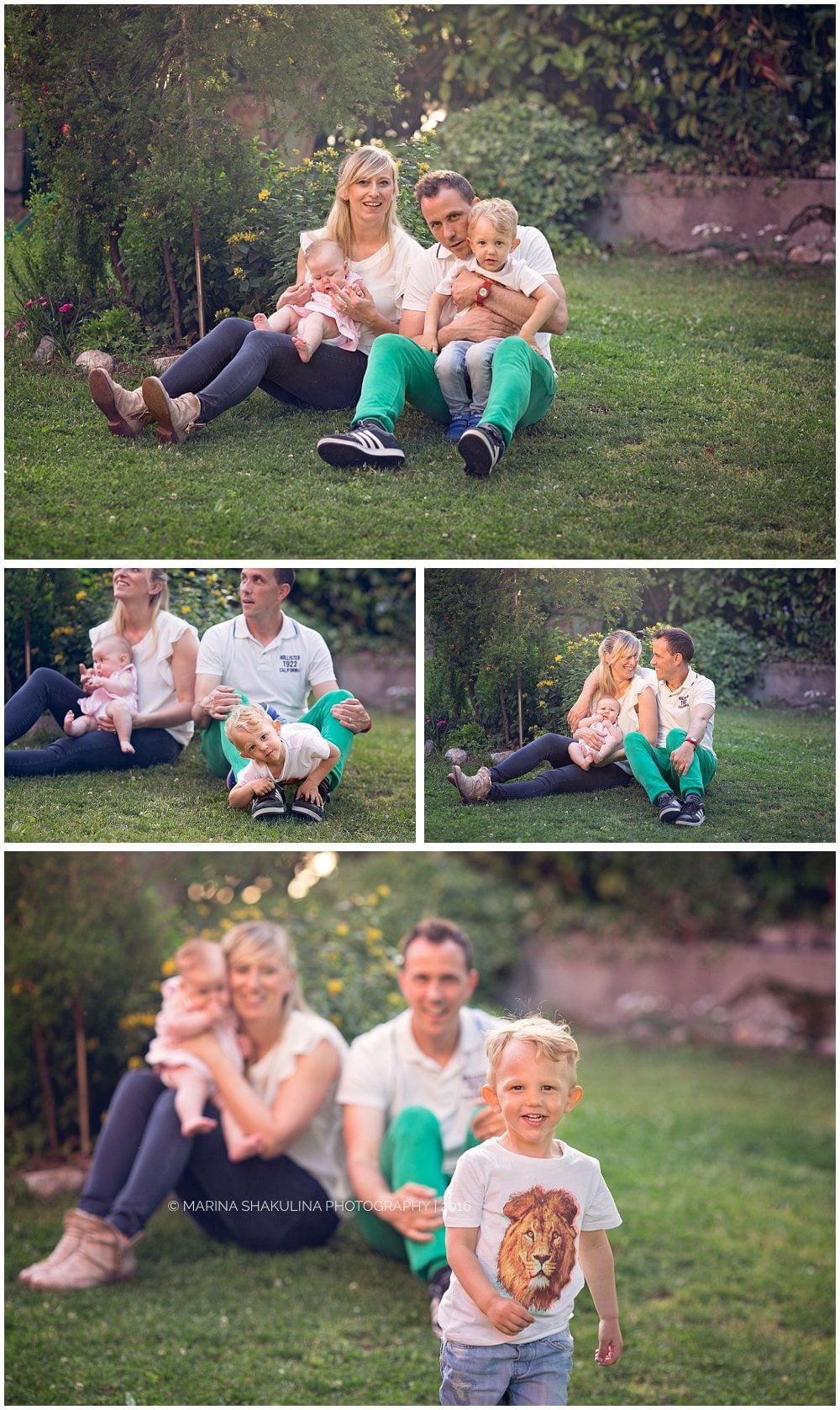 Fotografo di bambini a Verona - Alice e famiglia