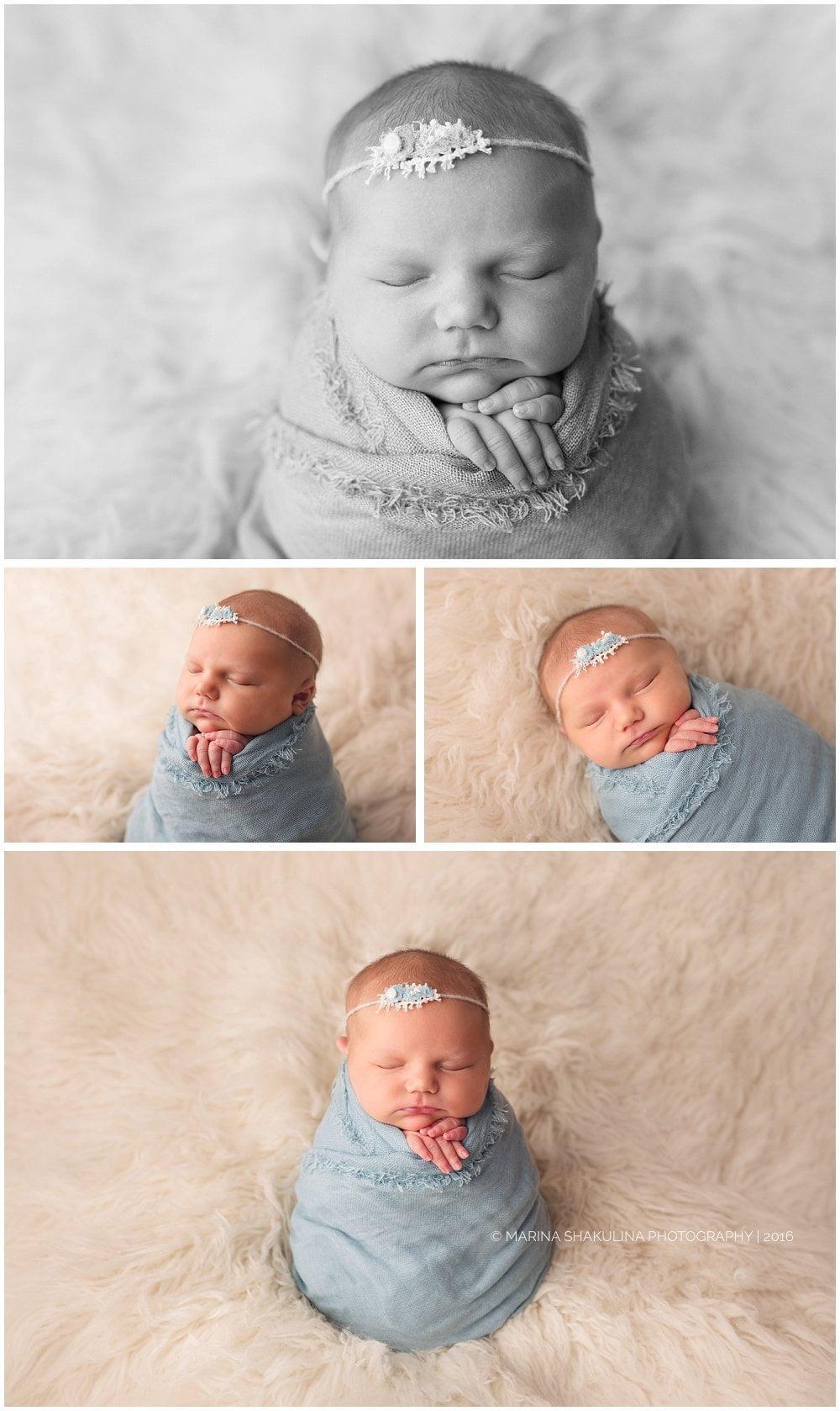 Servizio fotografico di neonati a Verona