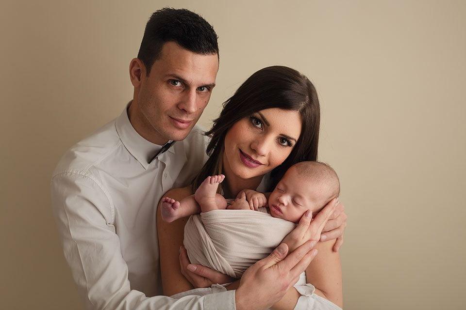 Servizio fotografico baby - famiglia