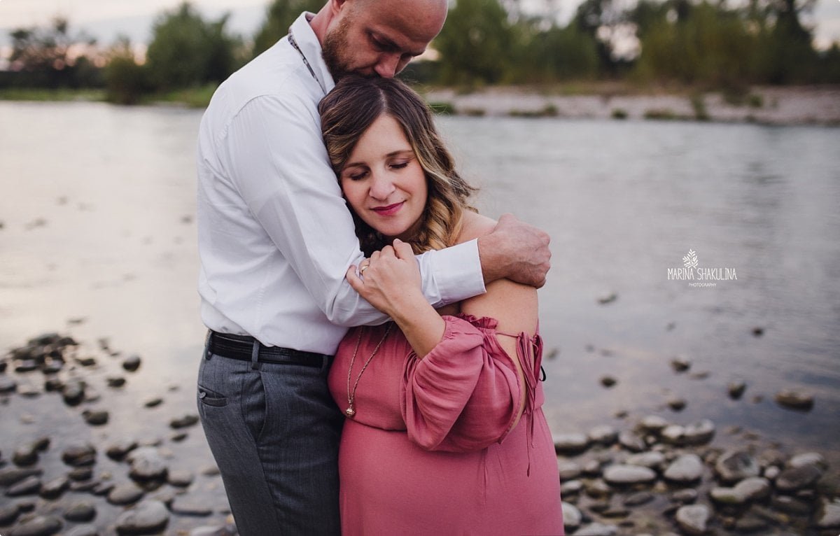 Fotografa Maternity - tenero abbraccio
