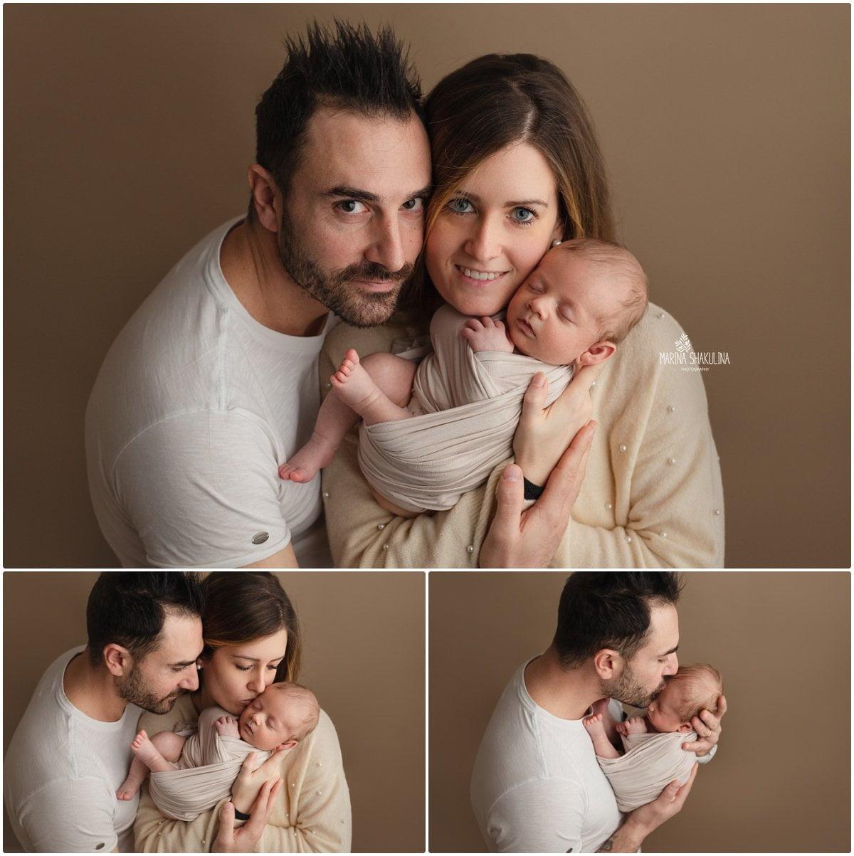 mini servizio fotografico neonato - dolce fagottino