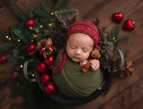 Mini servizio Newborn Dolce Fagottino | Santiago