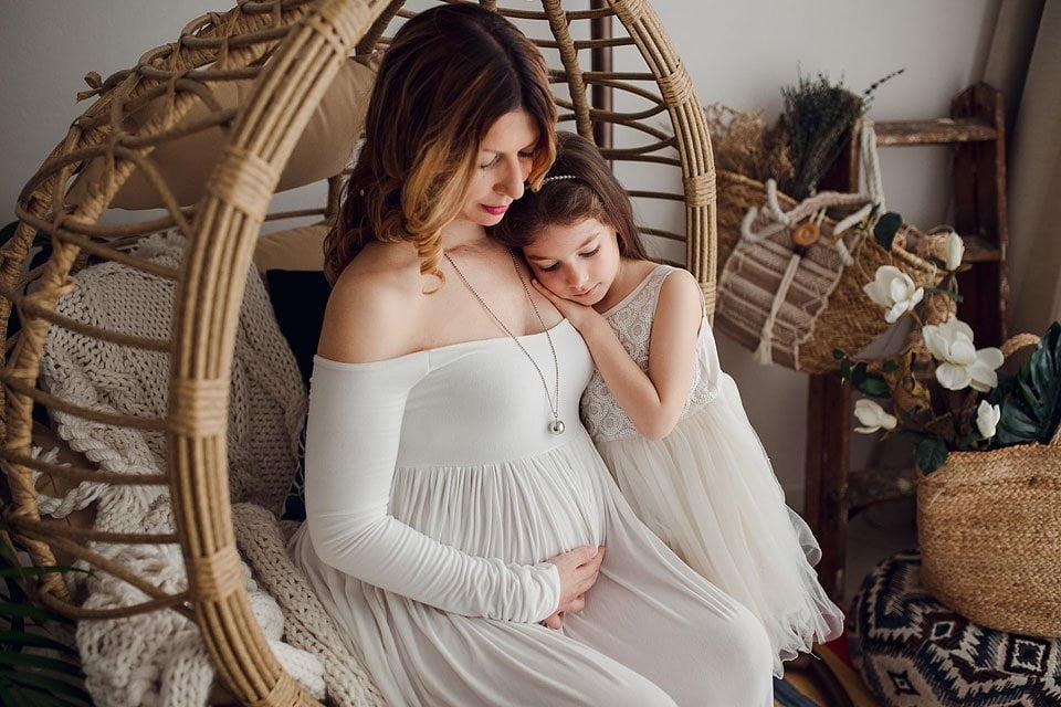 servizio fotografico di maternità a Verona - nido d'amore